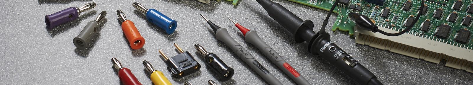 Low Voltage Spade Lug, Shielded Cable | Pomona Electronics